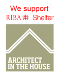 verve architects supports RIBA shelter architect in the house